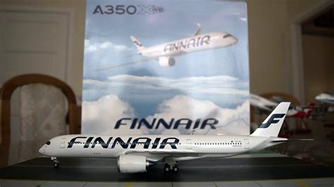 JC Wings 1:200 Finnair A350-900XWB Unboxing and Review