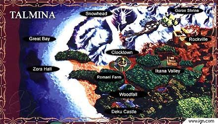 Geography and Environment (The Legend of Zelda Supplement