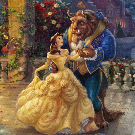Beauty and the Beast Dancing in the Moonlight - Limited