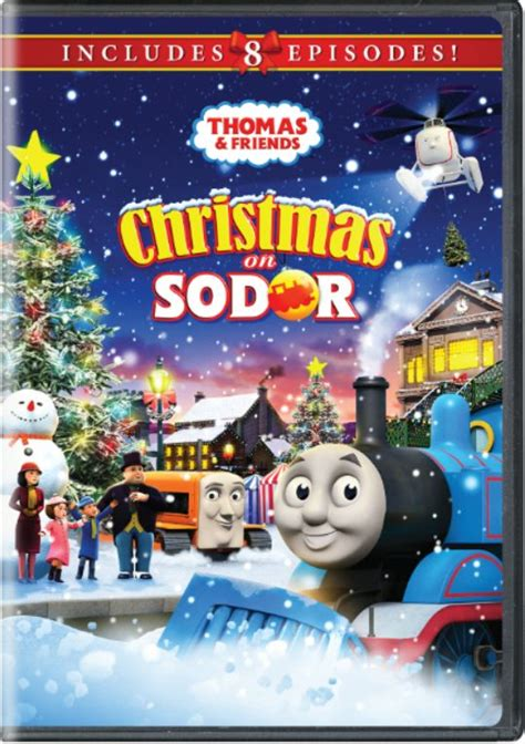Thomas & Friends Christmas On Sodor DVD - Wild About Movies