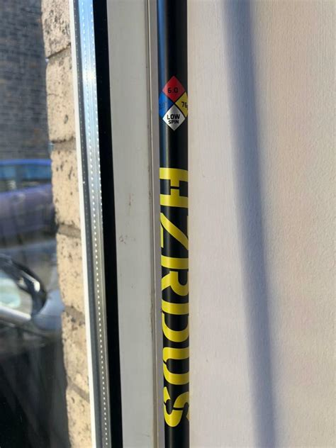 Project X Hzrdus Yellow Driver Shaft | in Blackwood