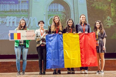 Romanian girls win two gold medals and a silver medal at