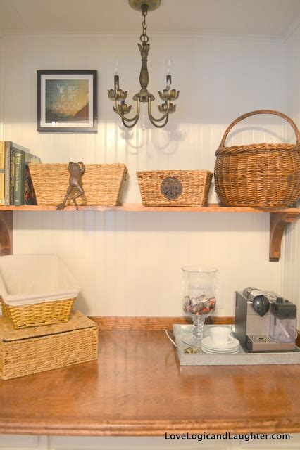 Our New Butler's Pantry / Our Coffee Bar: Turn a Closet