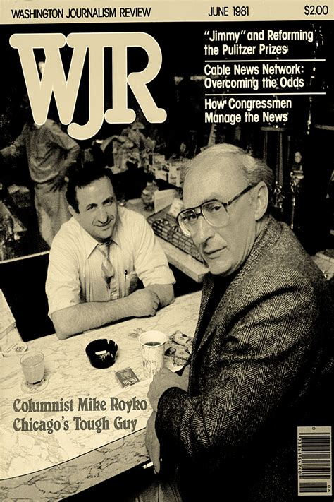 Mike Royko and Billy Goat Tavern - The World-Famous Billy