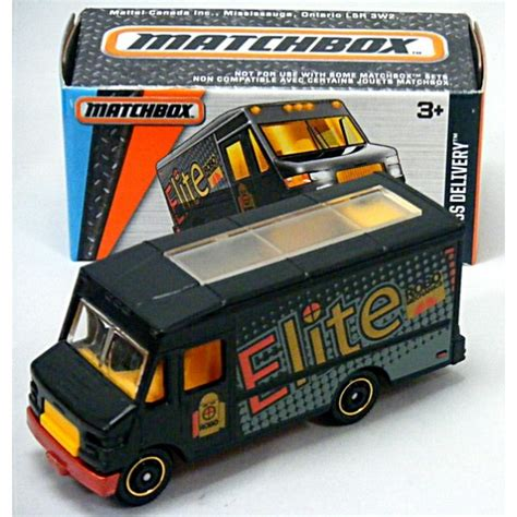 Matchbox Power Grabs - Express Delivery Truck - Global