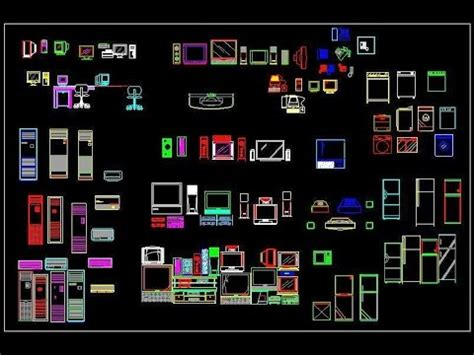 Free Electrical Appliances Autocad Block Download (www