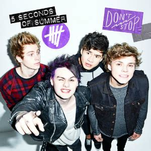 Don't Stop (5 Seconds of Summer song) - Wikipedia