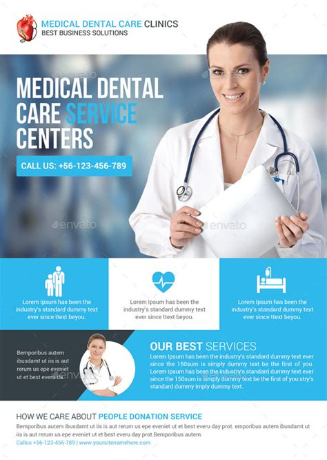 Health & Medical Doctors Flyer Template by