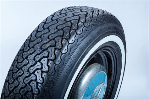185 R 14 White Wall Radial Tyre by Blockley