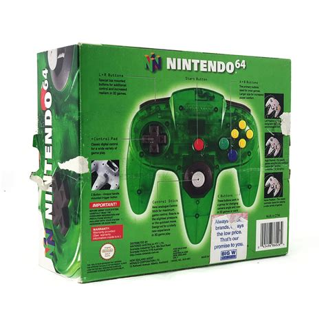 Nintendo 64 Jungle Green Controller (Boxed) [Pre-Owned
