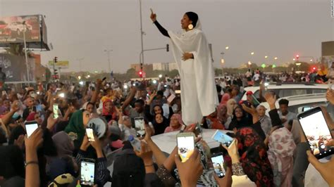 Sudan protests: This woman has come to symbolize the
