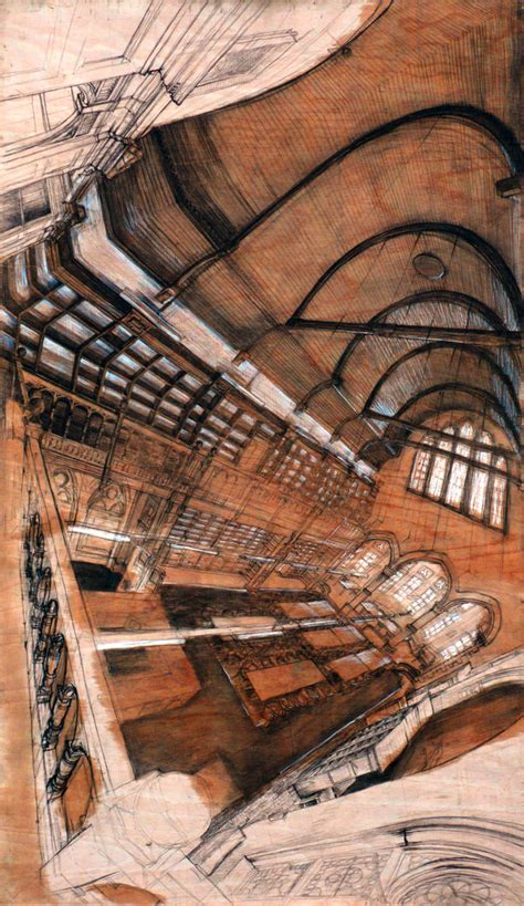 The Disorienting Polyhedral Panoramic Perspective Drawings