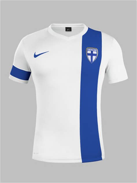 New Finland Home Kit 14-15- Nike Finland Jersey 2014-2015