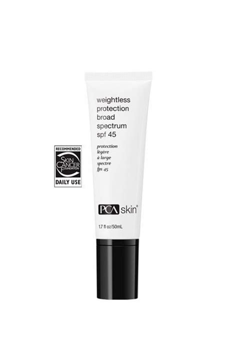 Weightless Protection Broad Spectrum SPF 45 PCA skin