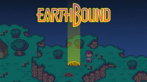 EarthBound, Donkey Kong Country, Super Mario Kart are