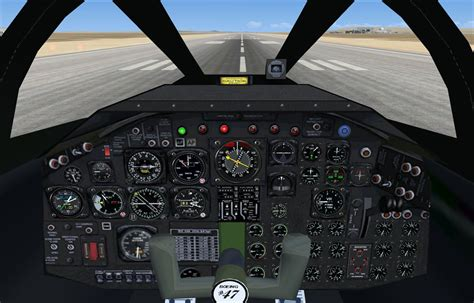 Boeing B-47 Stratojet With Updated Panels for FSX