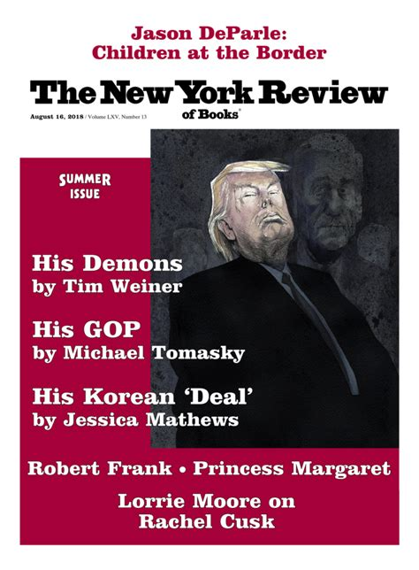Table of Contents - August 16, 2018   The New York Review