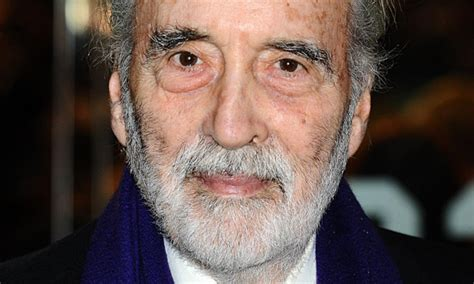 Sir Christopher Lee's new album will be '100% heavy metal