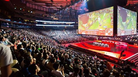 The 2017 League of Legends ESPN Esports Homepage