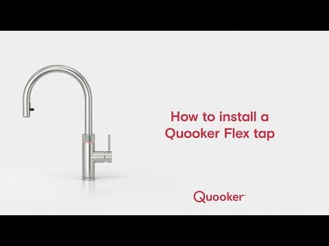 Quooker: Fusion Pro3 Square Stainless Steel Tap - Kitchen
