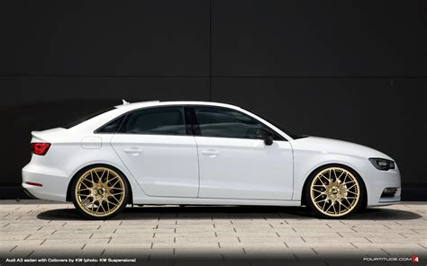 KW Coilovers for the Audi A3 Sedan - Fourtitude