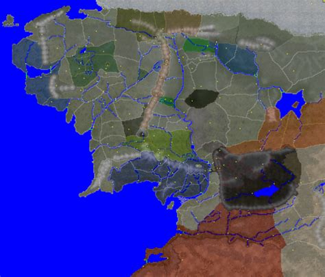 The final Map image - Divide and Conquer mod for Medieval