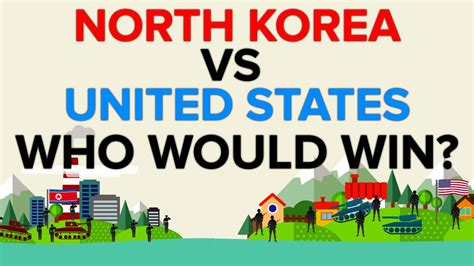 North Korea vs The United States - Who Would Win The War
