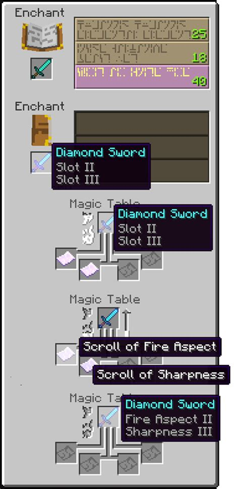 Craft and Enchant Mod for Minecraft [1