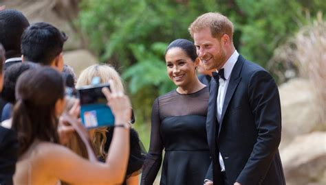 Harry and Meghan star at Lion King premiere | Newshub