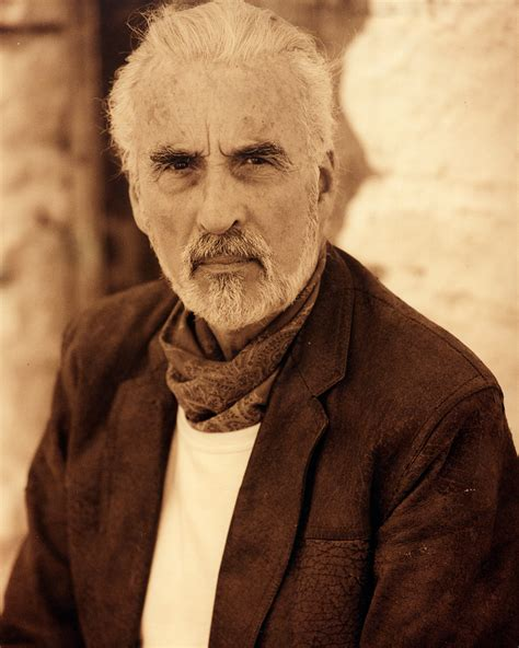 Christopher Lee marks his 92nd birthday with a new metal