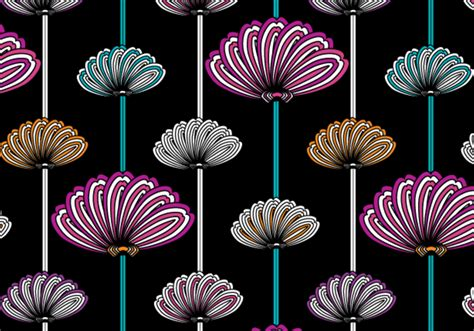 Flowery wallpaper pattern - Free Photoshop Brushes at