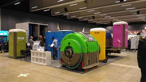 Innovative Mobile Restrooms Exhibits at the 2017 EUROTOI