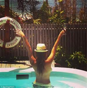 Real Housewives Of Melbourne's Jackie Gillies goes topless