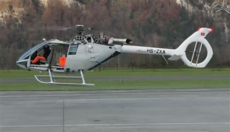 Marenco SwissHelicopter, first flight of the SKYe SH09