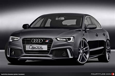 New Caractere Styling for Facelifted A5 and S5