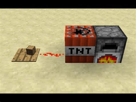 How to Make a Furnace TNT Time Bomb in Minecraft - YouTube