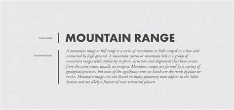 10 Tips and 10 Great Font Pairings